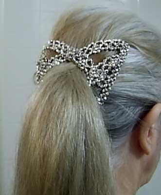 *Hair comb* H2SilGlitJan